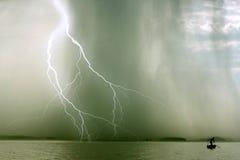 La tempesta Fotografie Stock