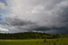 La tempesta nell'aria Fotografie Stock Libere da Diritti