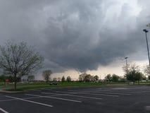 La tempesta si rannuvola Lafayette Indiana fotografia stock