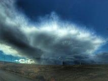 La tempesta sta fermentando Fotografia Stock