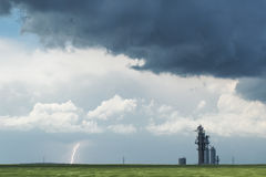La tempesta sta venendo Fotografie Stock Libere da Diritti