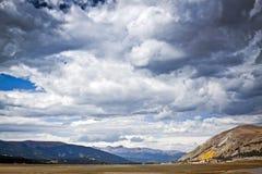 La tempesta sta venendo - Colorado S.U.A. Immagini Stock Libere da Diritti