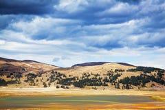 La tempesta sta venendo - Colorado S.U.A. Fotografia Stock