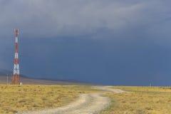 La tempesta viene più vicino Fotografie Stock