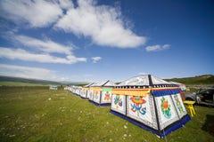 La tenda del mandriano Fotografia Stock Libera da Diritti