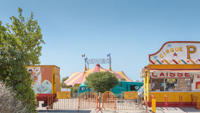 La tenda di circo Pinder Immagini Stock