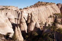 La tenda di Kasha-Katuwe oscilla il monumento nazionale, New Mexico, U.S.A. Immagine Stock Libera da Diritti