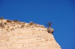 La tenda di Kasha-Katuwe oscilla il monumento nazionale, New Mexico, U.S.A. Fotografia Stock