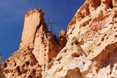La tenda di Kasha-Katuwe oscilla il monumento nazionale, New Mexico, U.S.A. Immagini Stock