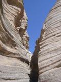 La tenda oscilla il canyon fotografia stock
