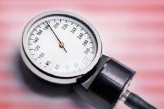 La tensión arterial alta, peligrosa para la vida, necesita los hel médicos urgentes Fotografía de archivo libre de regalías
