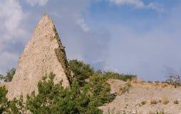La tente bascule le monument national, Nouveau Mexique Photo libre de droits