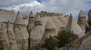 La tente de Kasha-Katuwe bascule le monument national, Nouveau Mexique, Etats-Unis Photographie stock libre de droits