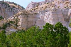 La tente pittoresque bascule le monument national, Nouveau Mexique Photo libre de droits