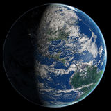 La terra Fotografia Stock