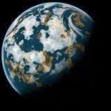 La terra del pianeta royalty illustrazione gratis