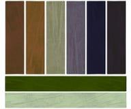 La terra ed il colore di sviluppo hanno strutturato l'insieme della bandiera Immagine Stock