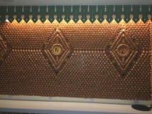 La terracota ahueca la decoración Imagen de archivo libre de regalías