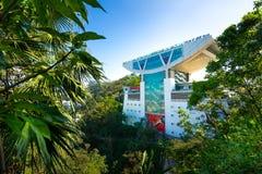 La TERRASSE 428 de CIEL est la belle tour sur la crête, Hong Kong photo stock