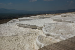 La terrasse de pamukkale en Turquie Photographie stock libre de droits