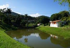 La terraza古巴 图库摄影