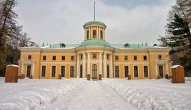 La terraza superior Señorío de Archangelskaya, 2009 imagenes de archivo