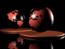 la terre 3d Image libre de droits
