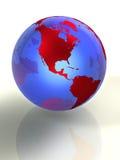 La terre 3d Photos libres de droits