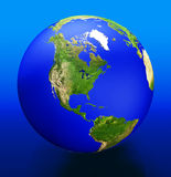 La terre 3d Photographie stock libre de droits
