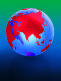 La terre 3d Photo stock