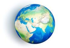 la terre 3d Images stock