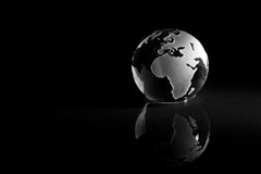 La terre abstraite Photos libres de droits