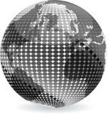 La terre abstraite Image libre de droits