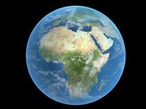 La terre - Afrique Photos stock