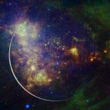La terre Art de l'espace ?l?ments de cette image meubl?s par la NASA images stock
