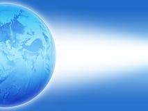La terre bleue Image stock