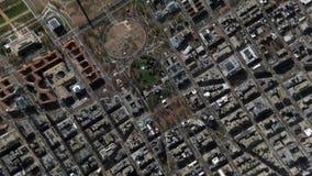 La terre bourdonnent dans le bourdonnement hors de la Maison Blanche Washington Maryland United States banque de vidéos