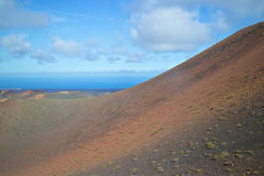 La terre colorée de lave Image stock