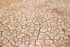 La terre criquée, texture de Crecked Image libre de droits