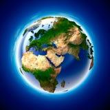 La terre d'écologie Images stock