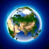 La terre d'écologie Image libre de droits