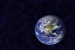 La terre dans l'espace Image stock