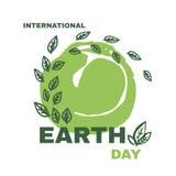 La terre day3 Images libres de droits