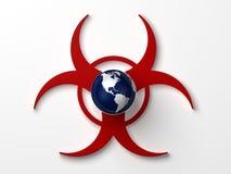 La terre de Biohazard Illustration Libre de Droits