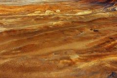 La terre de cuivre Photo libre de droits