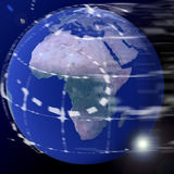 La terre de globe du monde Photos libres de droits