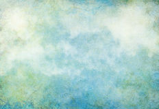 La terre de grunge de nuage Photos libres de droits