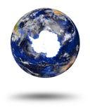 La terre de marbre bleue de planète Photos libres de droits
