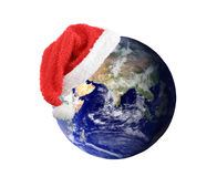 La terre de Noël photos stock