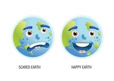 La terre de planète Illustration Libre de Droits